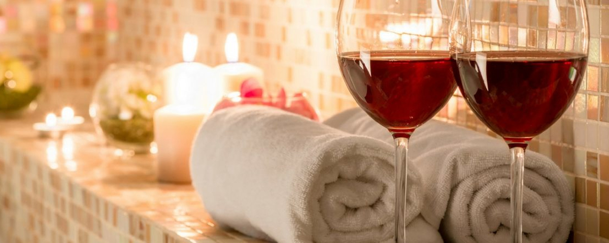 Wine massage